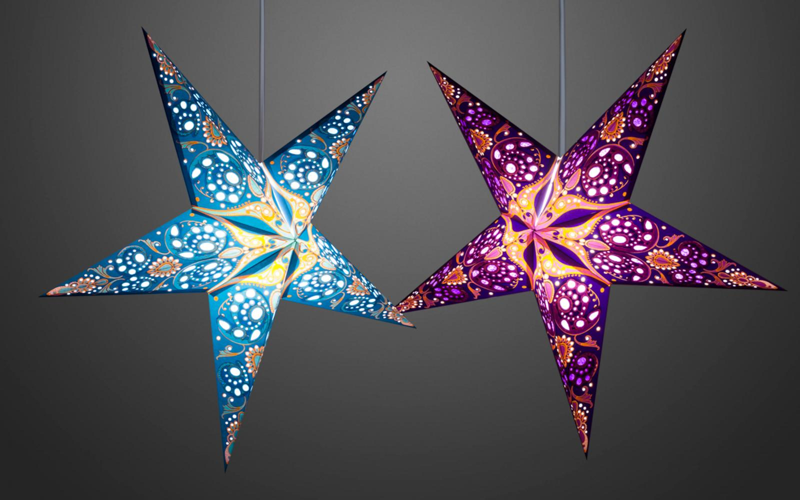 Details About Phoenix Handmade Paper Star Light Shades And Christmas Decorations