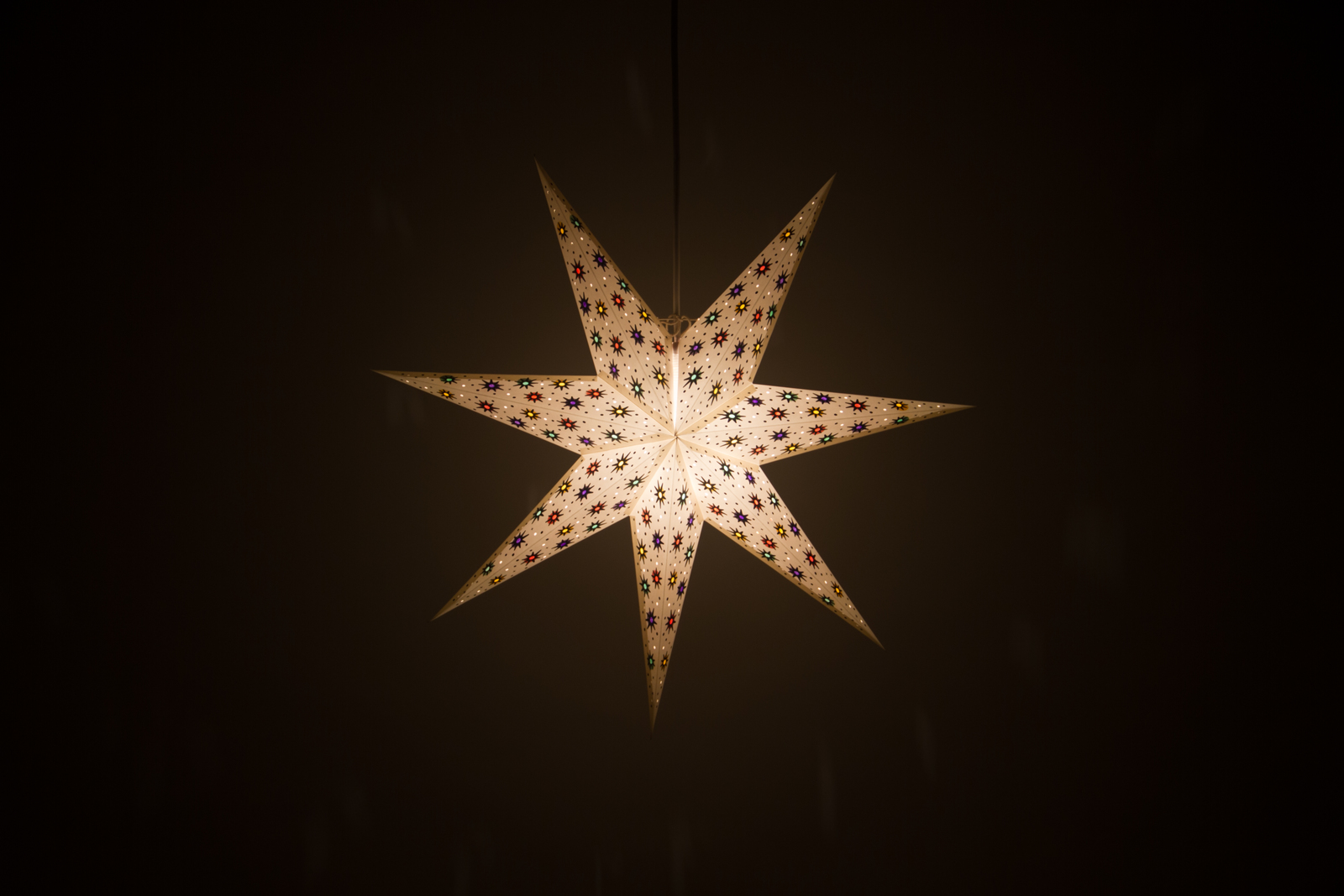 Spirit Paper Star Light Shades Hanging Ceiling Lampshades
