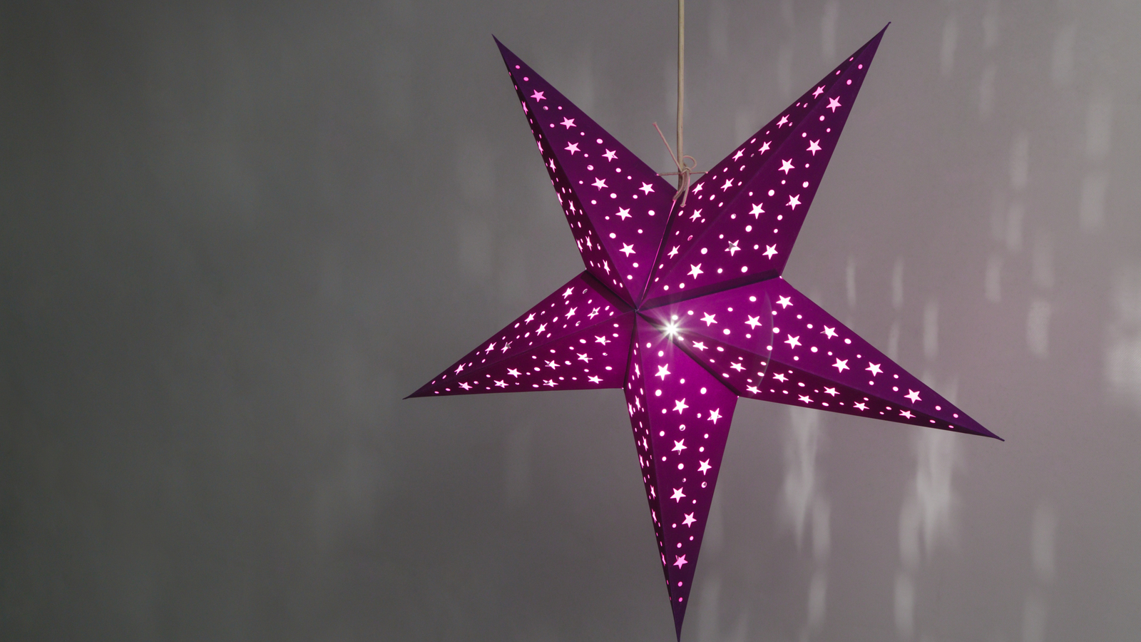 Starry Paper Star Hanging Ceiling Lampshades Light Shades