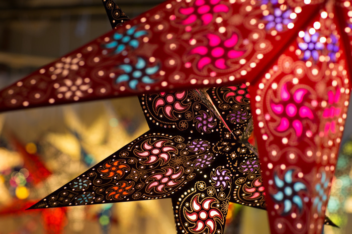 Paper Star Lanterns & Lightshades for the Diwali Festival of Light