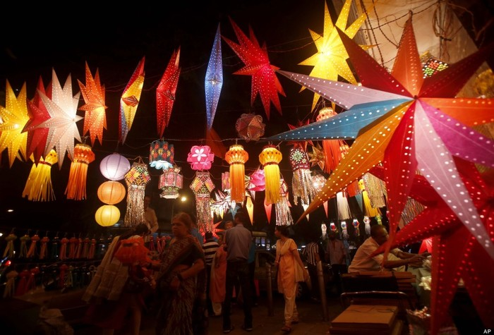 diwali the festival of light and paper star lanterns