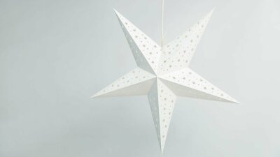 Starry White Paper Star Party Decorations