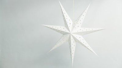 Deluxe Lanterns North Star Paper Star Party Decorations