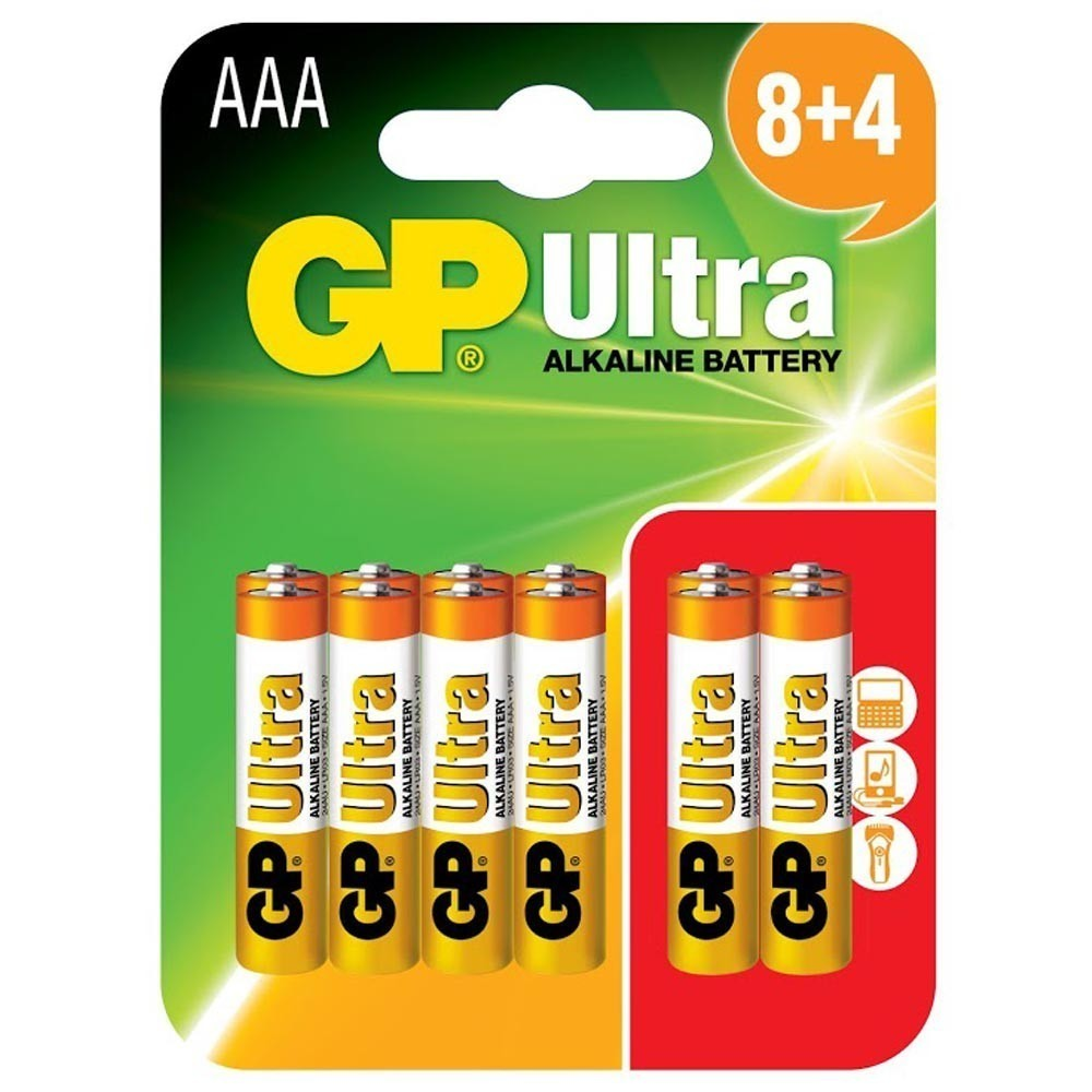 Accessories 12 Pack AAA Alkaline Batteries GP Ultra Paper Star Party Decorations
