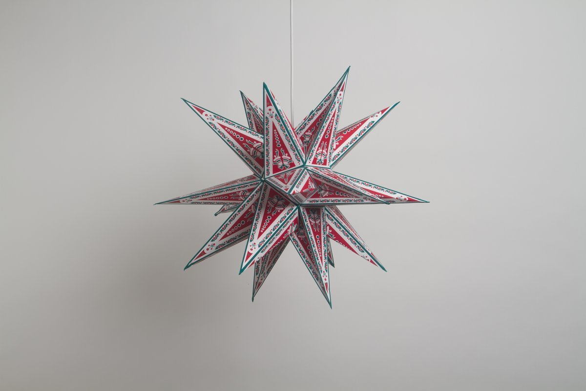 supernova christmas special paper star party decorations
