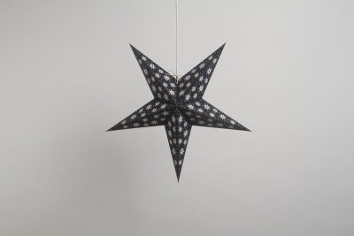 Fiesta Black Paper Star Party Decorations