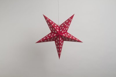 Fiesta Red Paper Star Party Decorations