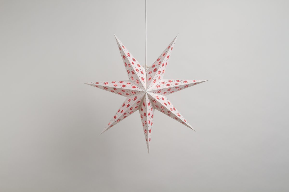 Spirit Norsk Paper Star Party Decorations