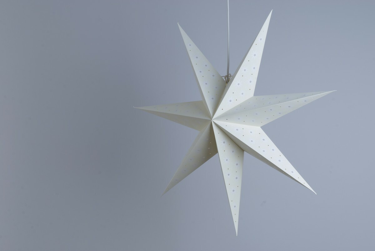 Spirit Sandstone Paper Star Party Decorations